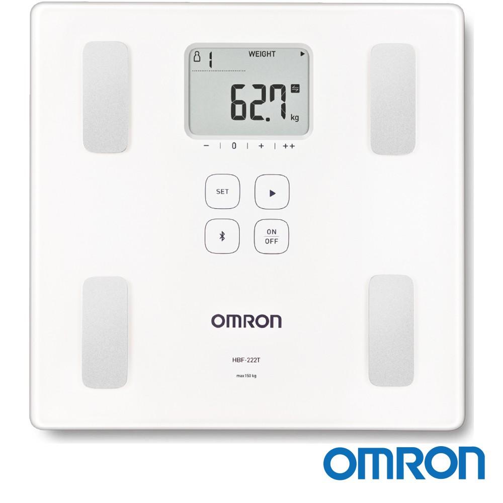 OMRON 歐姆龍 藍芽傳輸體重體脂計 HBF-222T (白色)