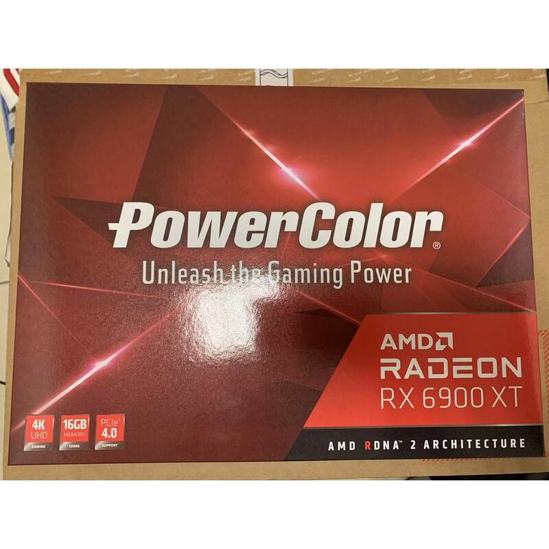 撼訊 Power Color RX 6900xt  MBA GDDR6 16G