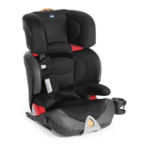 Chicco Oasys 2-3 FixPlus 安全汽座/汽車座椅(搖滾黑) 7900元