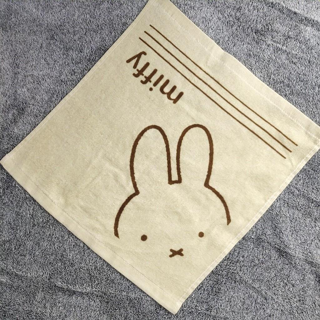 卡通可愛大方巾四方手帕擦手巾洗臉巾柔軟吸水純棉出口日單