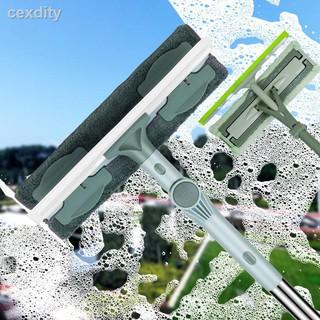 擦玻璃神器大號雙面多功能擦窗器家用高樓加厚伸縮桿擦玻璃器工具
