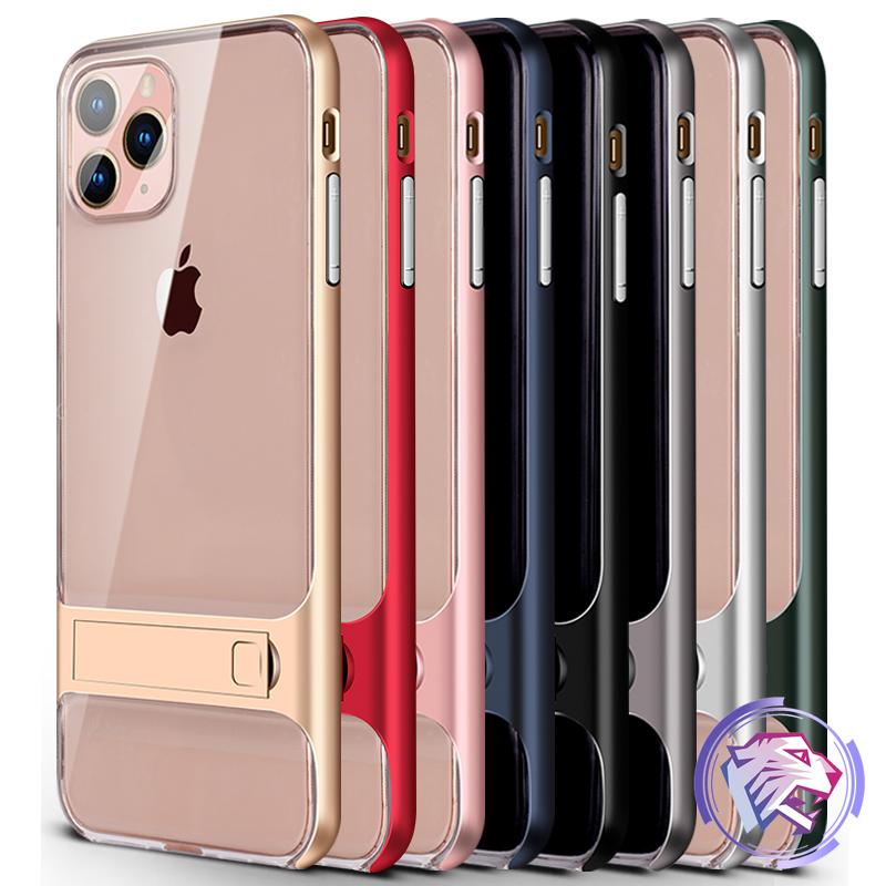 蘋果手機殼iPhone8plus iPhone6 i7 SE 2020 SE2 6S 7Plus透明防摔影片支架保護殼