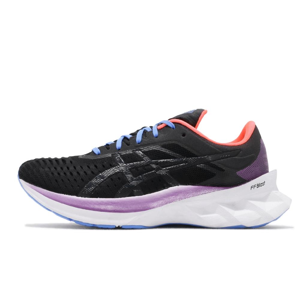 【ACS】Asics 慢跑鞋 Novablast 黑 白 女鞋 運動鞋 超強回彈 厚底跑鞋 1012A584001