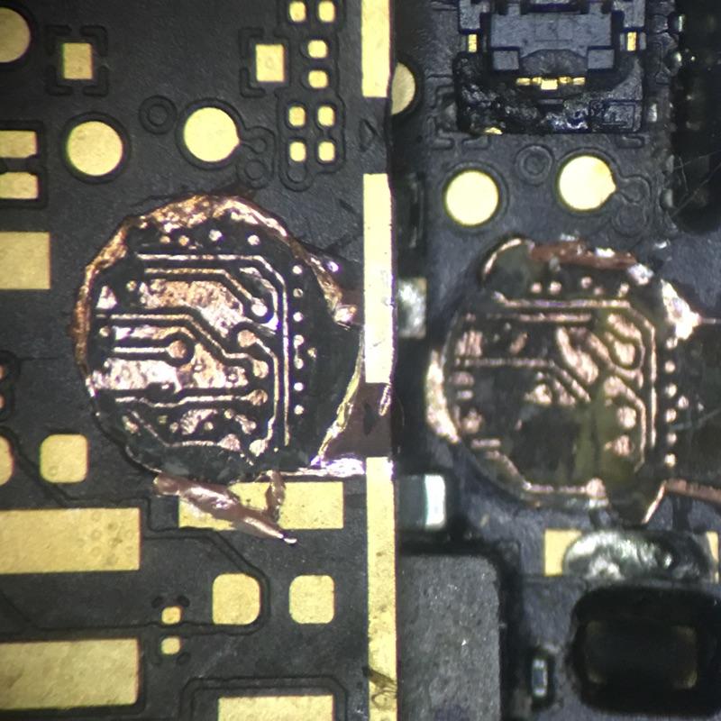 iPhone4/5/5s/6/6s/7/8/x主機板現場維修1000元起見到主機板測試完報價