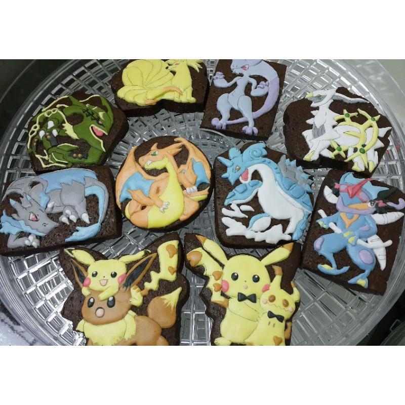 Cookie Baby客制化可接急單客制化皮卡丘糖霜餅乾神奇寶貝