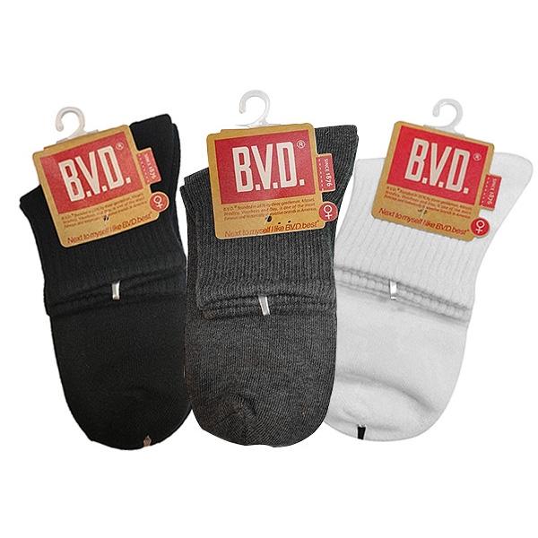 BVD 1/2中性休閒襪B221(1雙入)【小三美日】D092195