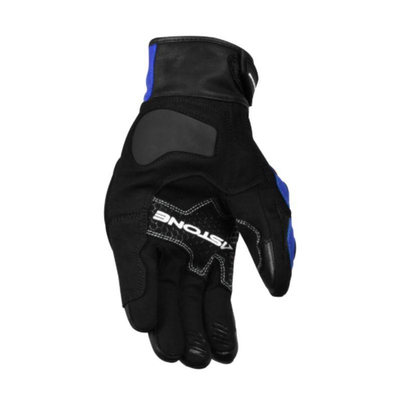 Astone KC01 觸控透氣防摔手套 黑藍 防摔手套 可觸控 透氣 夏季手套《淘帽屋》