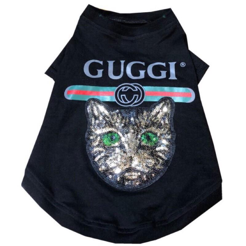 刺繡工藝嬰兒面料寵物潮牌-Gucci
