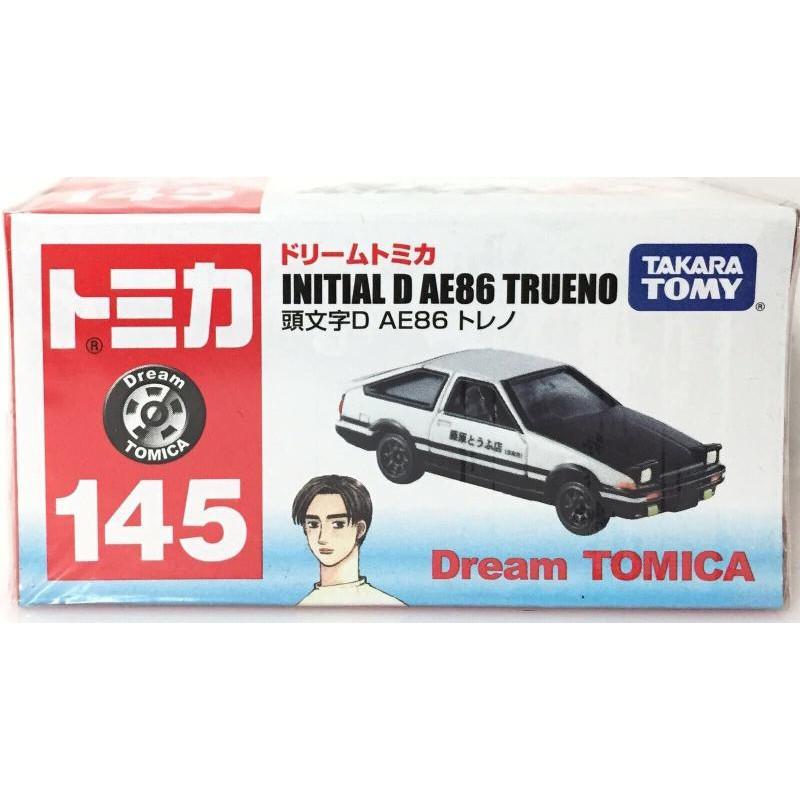 全新 TOMY TOMICA 145 INITIAL D AE86 TRUENO 頭文字D 藤原 拓海 多美 小汽車