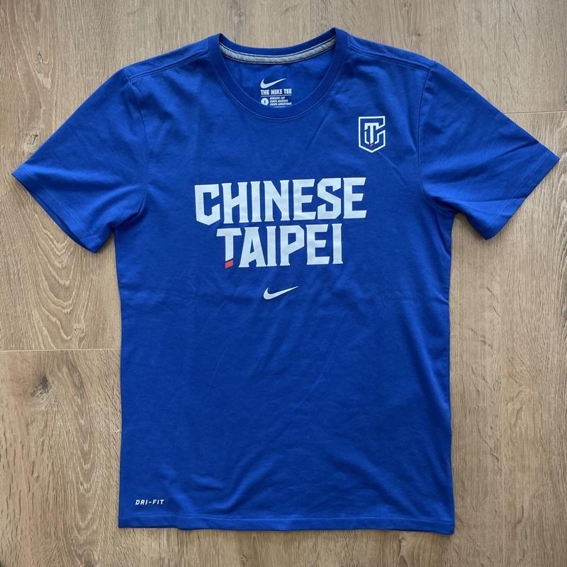 Nike 中華台北 Chinese taipei 奧運 t恤