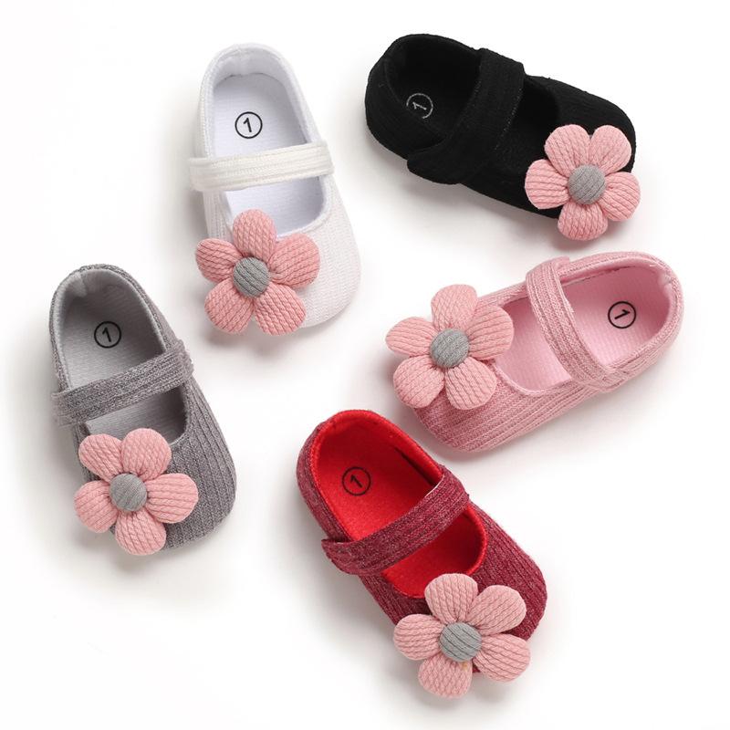 春秋0-1歲女寶寶公主鞋軟底防滑嬰兒學步鞋寶寶鞋