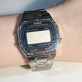 ::KUANN 於小飾::日本 CASIO 卡西歐 藍色 黑色 電子錶 石英錶 | 古董錶 復古錶 大錶 方錶 桃園市
