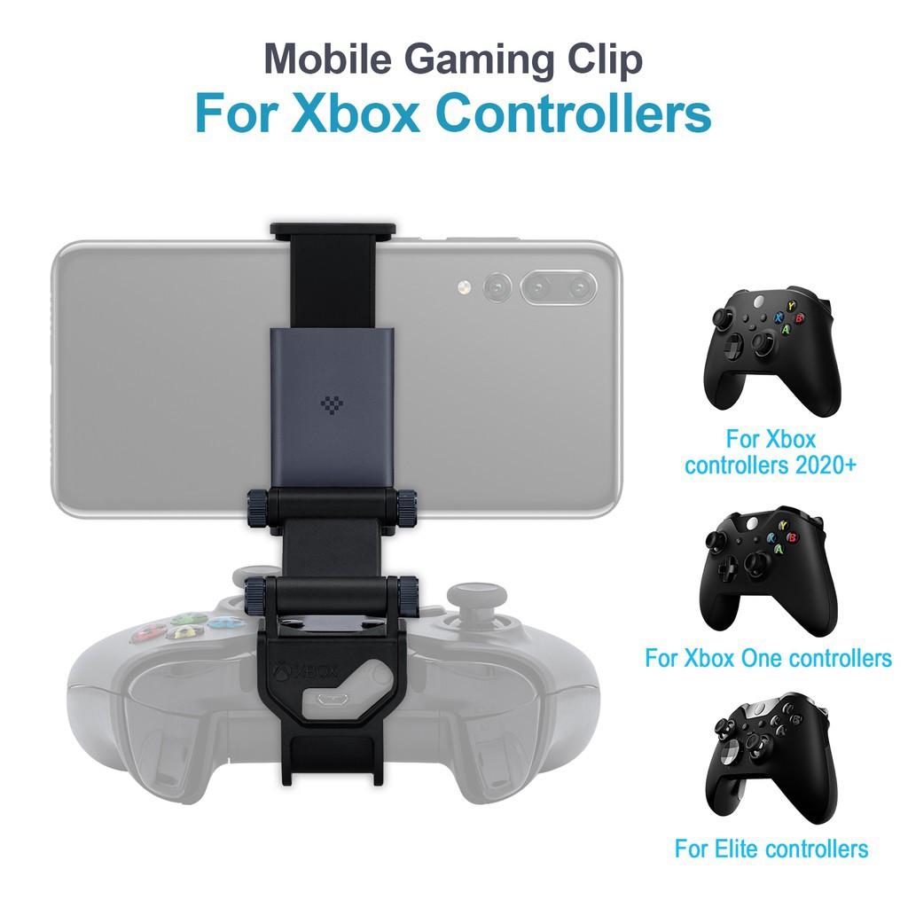 ☏8Bitdo Xbox手柄可調式支架套裝 Xbox One/精英手柄專用手機支架