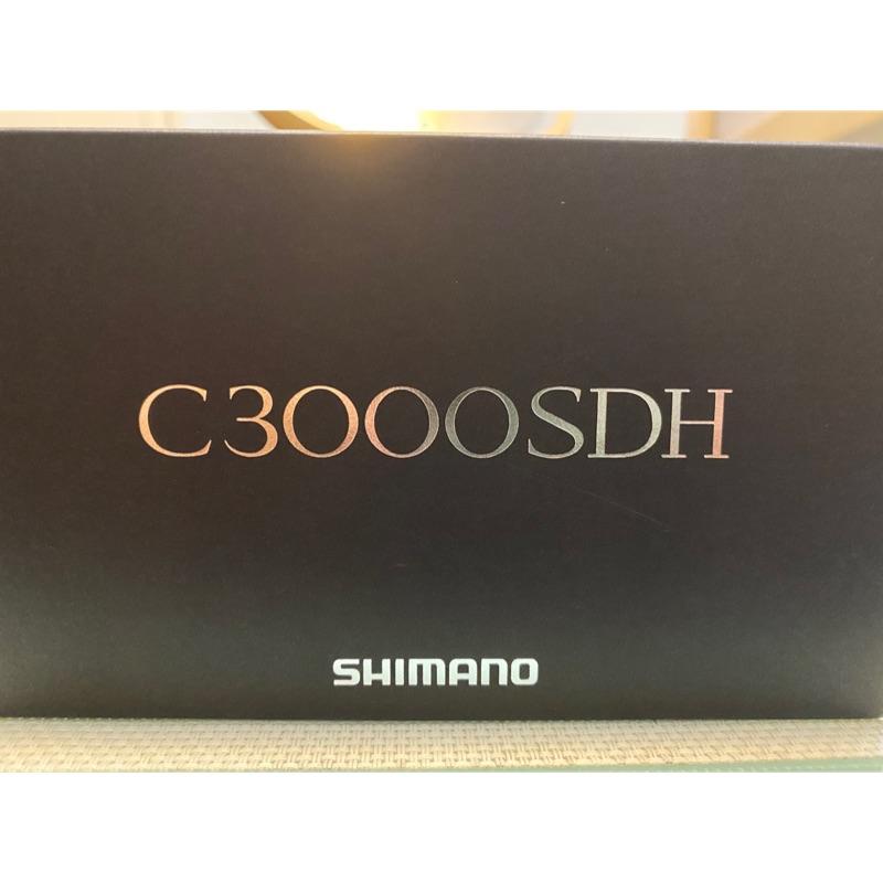 全新SHIMANO STELLA C3000SDH 雙把手 軟絲捲線器 3000