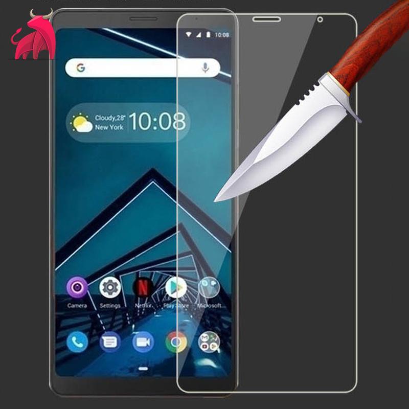 聯想 tab v7 鋼化膜 V7手機貼膜保護膜Tab V7 平板7寸螢幕玻璃膜-MTW37777