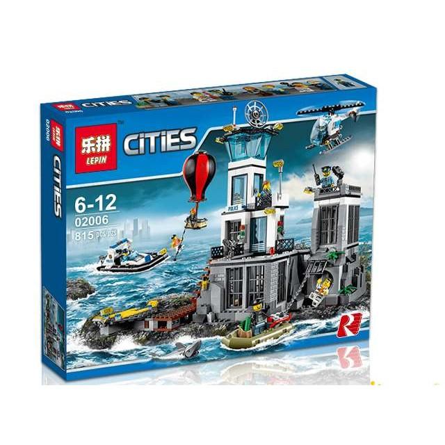 磚塊積木-樂拼02006城市警察系列相容LEGO非樂高60130