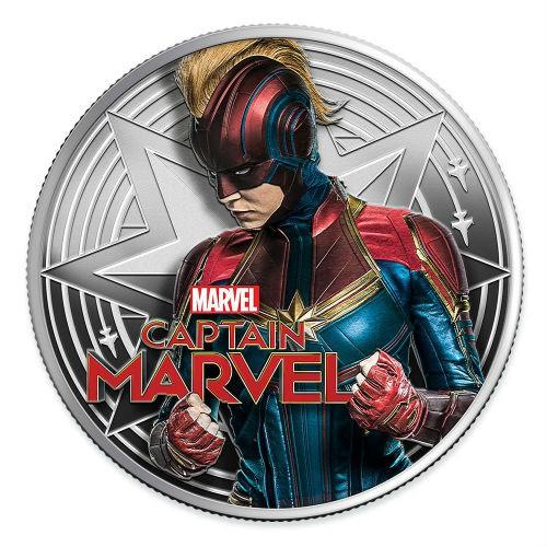 預購 - 2019斐濟-Marvel-驚奇隊長-1盎司銀幣