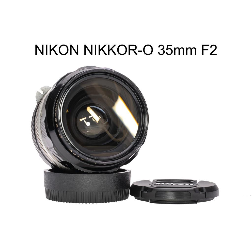【廖琪琪昭和相機舖】NIKON NIKKOR-O 35mm F2 手動對焦 NON-AI 保固一個月
