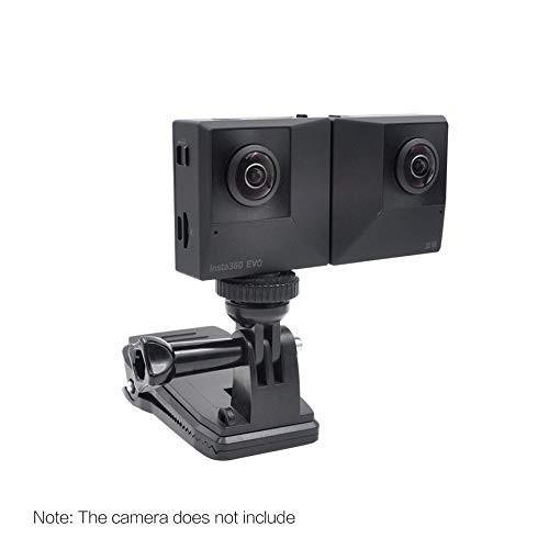 ◕✐✣#相機   insta360 ONE X2/R相機背包夾配件360X2/R可調節旋轉相機夾