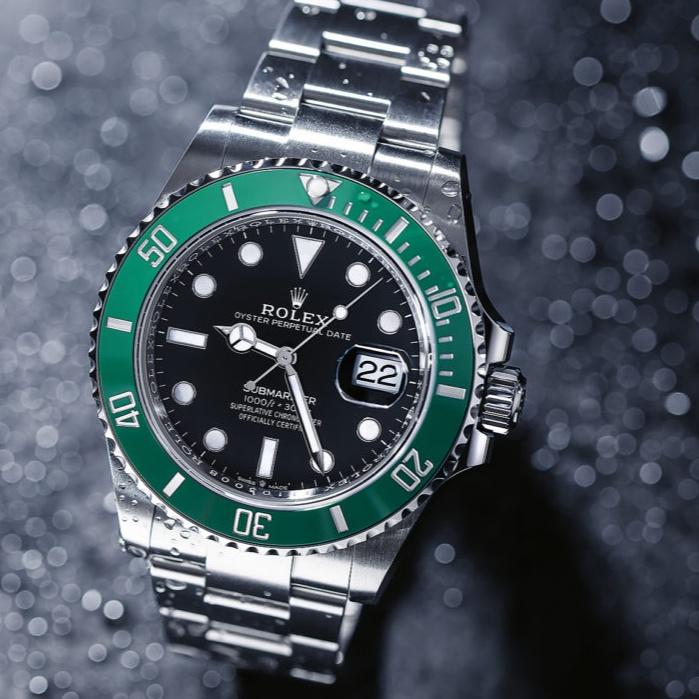 ROLEX 勞力士126610LV 最新款綠水鬼 41MM 黑面