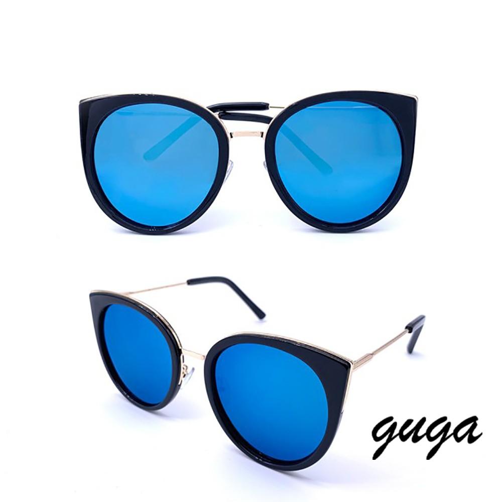 【GUGA】西裝革履的海鷗先生 時尚貓眼偏光墨鏡/太陽眼鏡(859)
