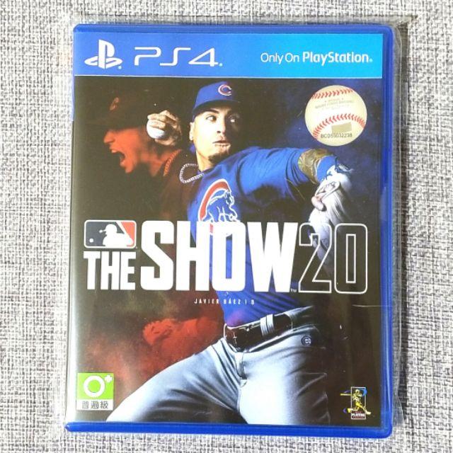 【椪柑電舖🍊】PS4 MLB 20 美國職棒大聯盟20  THE SHOW20 19 16有特典 英文版 可面交 遊戲片