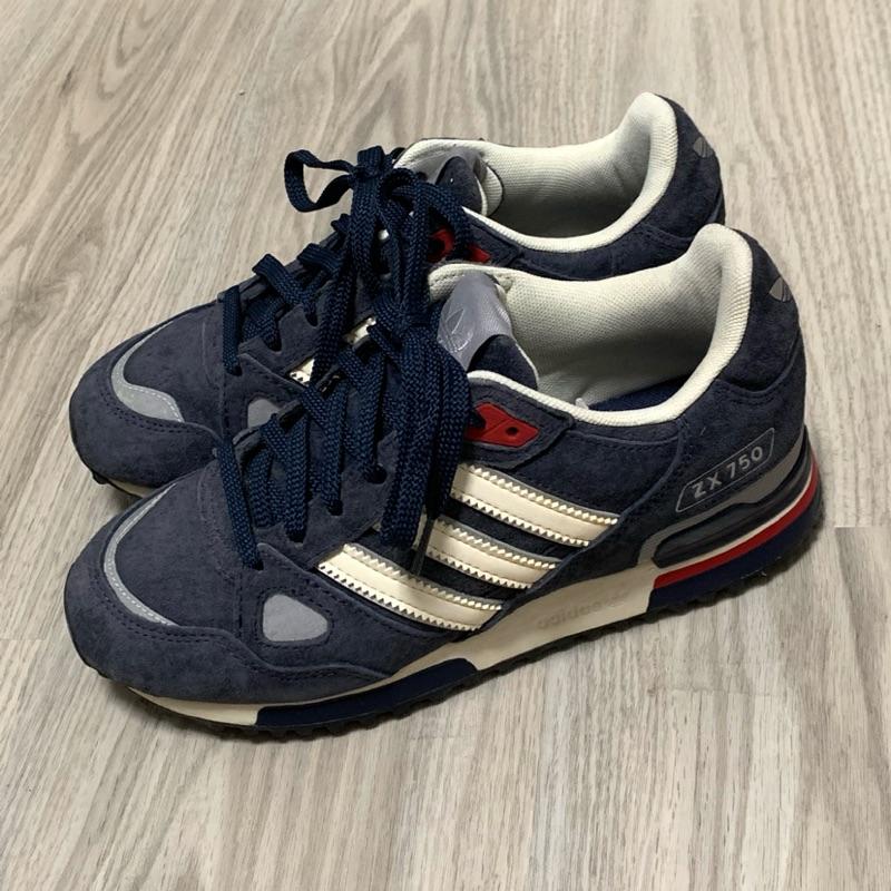 Adidas originals ZX750(尺寸UK4)