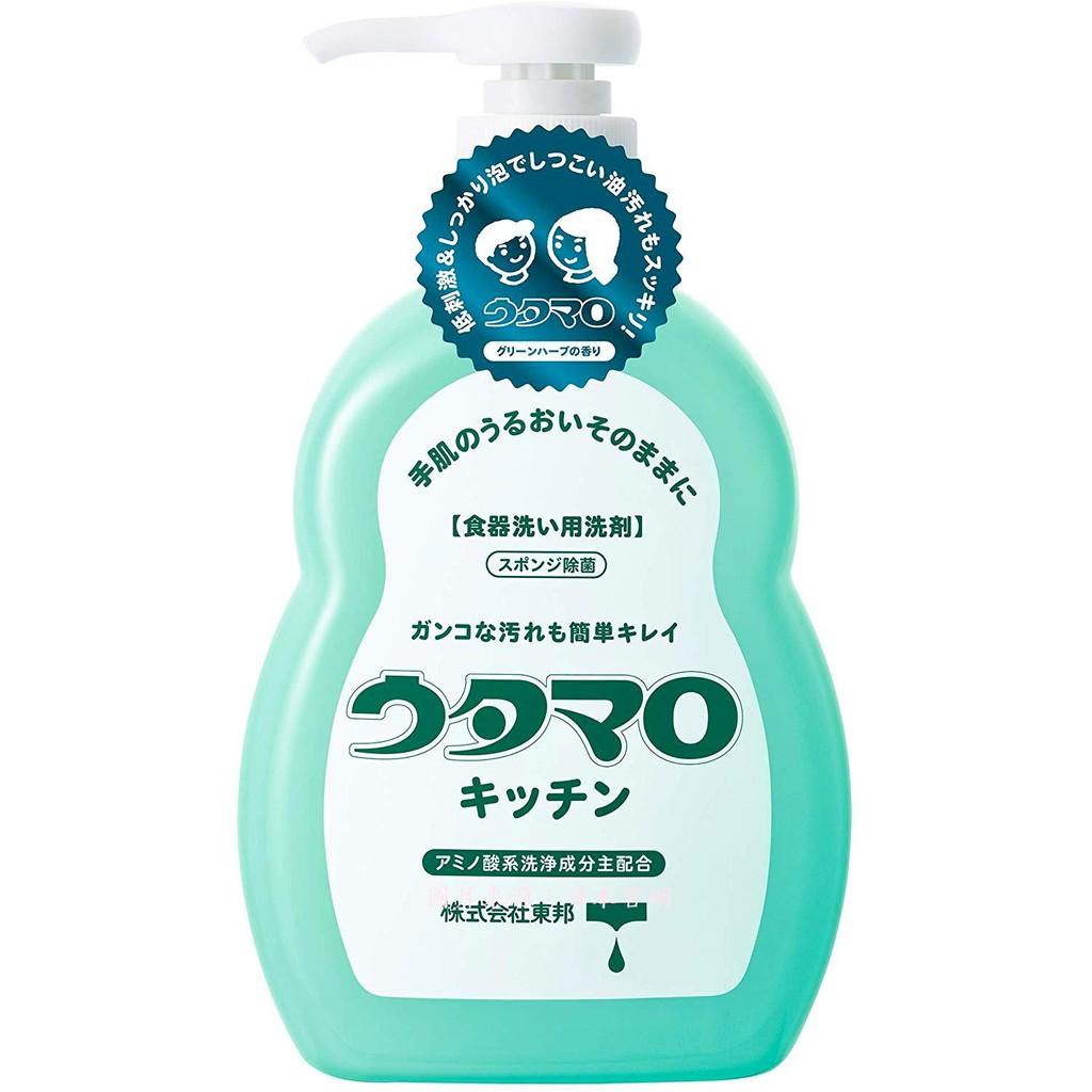 日本製 東邦 UTAMARO 歌磨 濃縮 洗碗精 300ml  香草花香 低刺激 綿密泡沫 環保 天然 櫻花生活日鋪 B