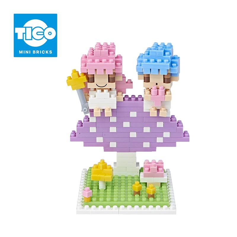 TICO微型積木 雙子星系列 蘑菇篇(T-4107)