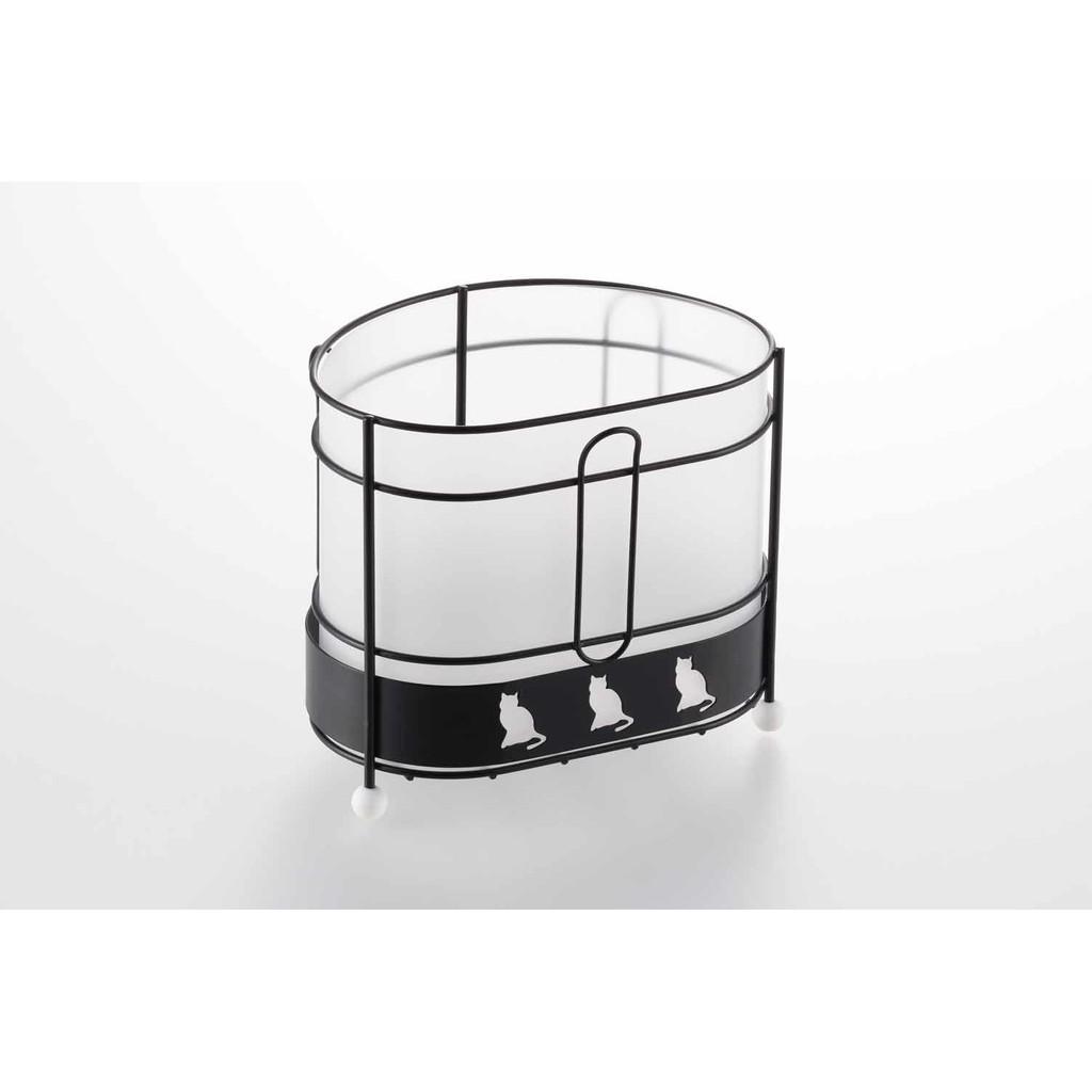《日本黑貓廚房系列》流理台用小型廚餘桶