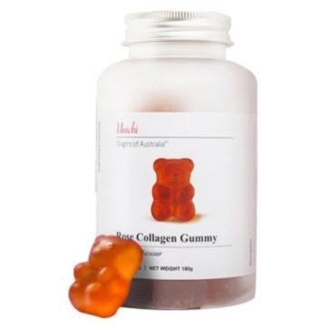 🛍澳洲代購🛍 🔥【Unichi 玫瑰膠原蛋白小熊軟錠 60顆】