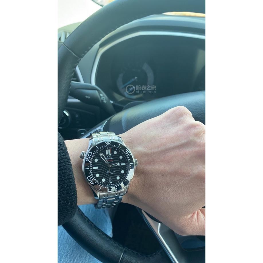 【二手正品】OMEGA海馬300   潛水錶 超強夜光效果  防水手錶 男錶 手錶 腕錶 543482
