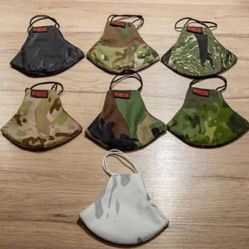 SOETAC 全包覆 立體口罩 迷彩系列 7色