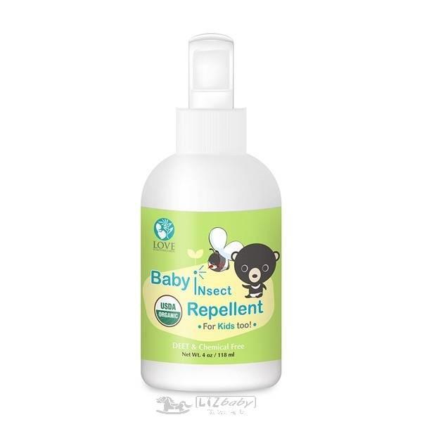 大地之愛USDA有機嬰兒防蚊液118ml