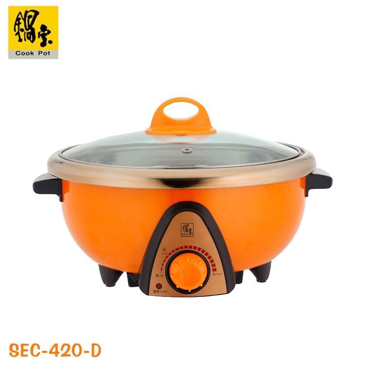 鍋寶 4公升 大容量 分離式 不鏽鋼 料理鍋 美食鍋 調理鍋 SEC-420-D 廠商直送 現貨
