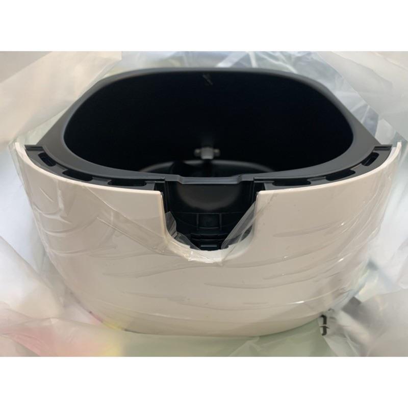 PHILIPS 飛利浦 第一代氣炸鍋 HD9220 外鍋(黑/白色)