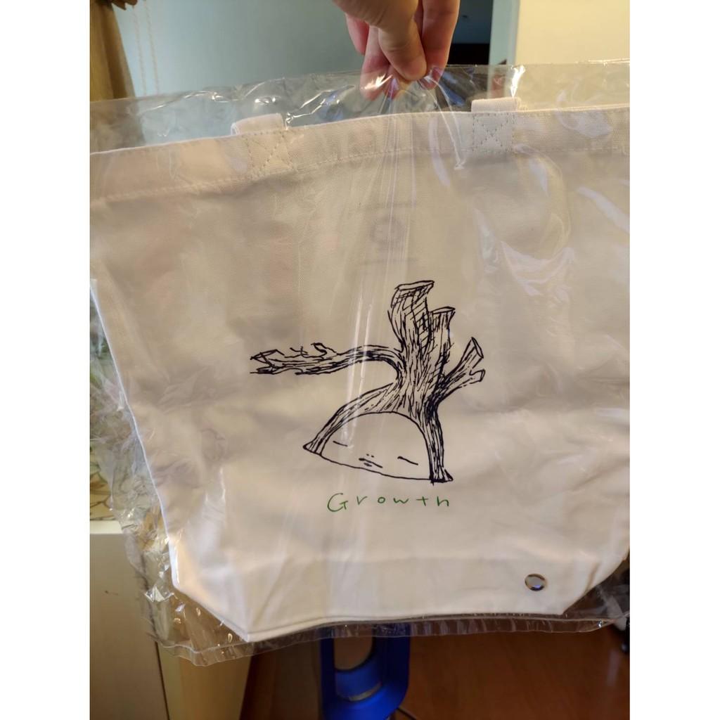 【白色】中村萌個展手提袋 全新現貨