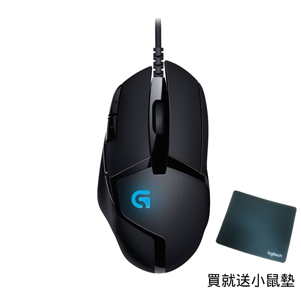 Logitech G 羅技 G402 HYPERION FURY 高速追蹤電競滑鼠【現貨免運】送羅技G滑鼠墊