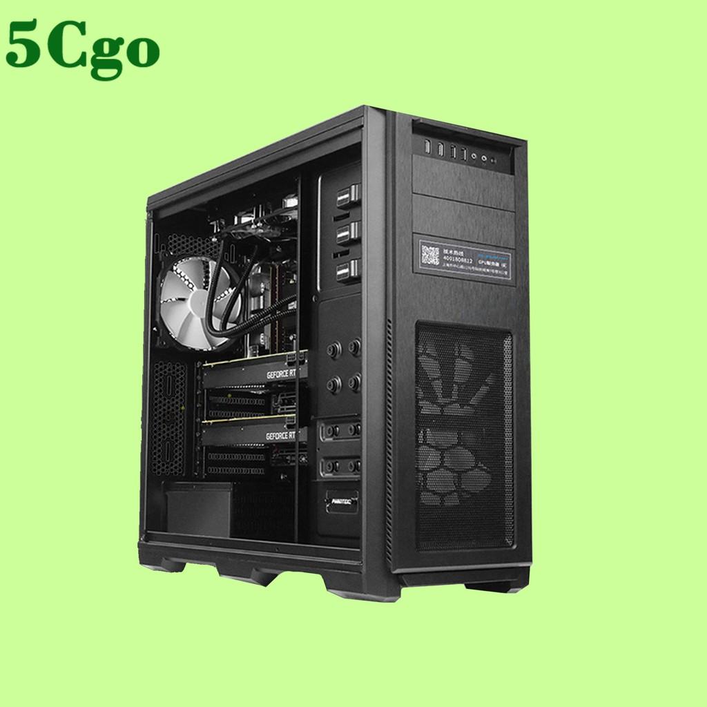 5Cgo【含稅】雙顯示卡 i9-9900K深度學習桌上型工作站組裝電腦主機RTX2080Ti/TITAN RTX可選