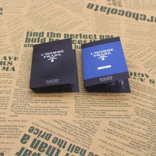 Prada普拉達 L'Homme 新款同名蔚藍紳士淡香水噴瓶試香小樣1.5ml 女性成熟現貨支持信用卡禮品閨蜜老婆禮物信 新竹市