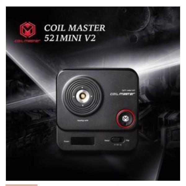 H.C 三重俱樂部 Coil Master 521 mini V2 歐姆機 現貨供應