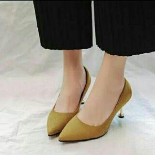 大尺碼 大碼 女鞋 絨面高跟鞋 女鞋  40-43號 25 25.5 26 26.5號 低跟鞋 女鞋 大尺碼 大尺寸 彰化縣