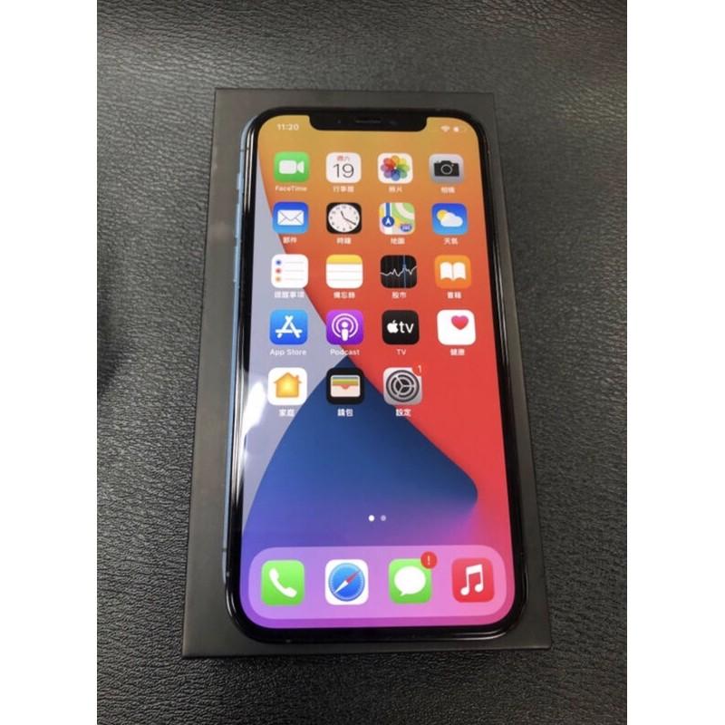 二手 iPhone 12 Pro 256G 籃色 近全新 功能正常 原廠盒裝配件如圖 原廠保固到2021年11月4日