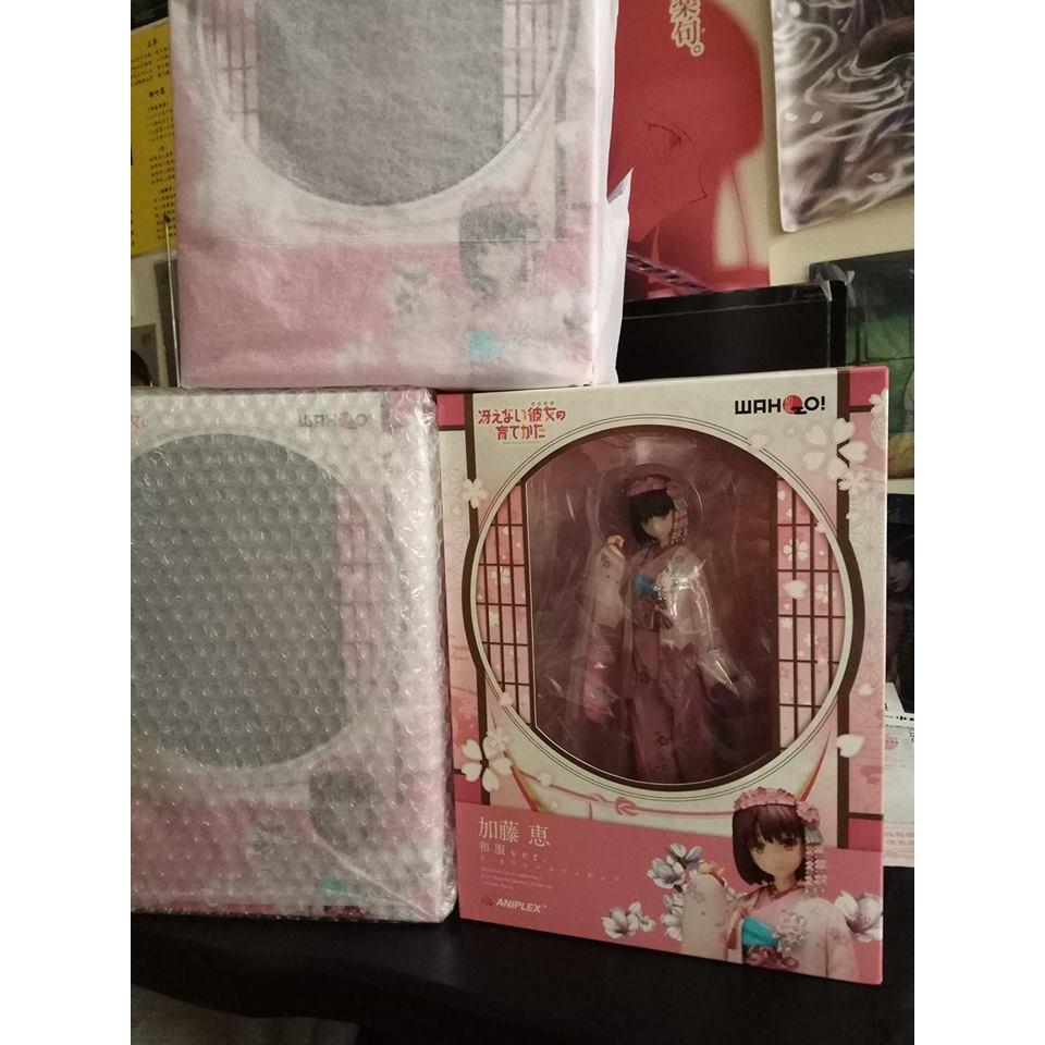 現貨 ANIPLEX 不起眼女主角培育法 加藤 惠 和服 Ver. 小惠 聖人惠 正版的 不是黑心港版、盜版