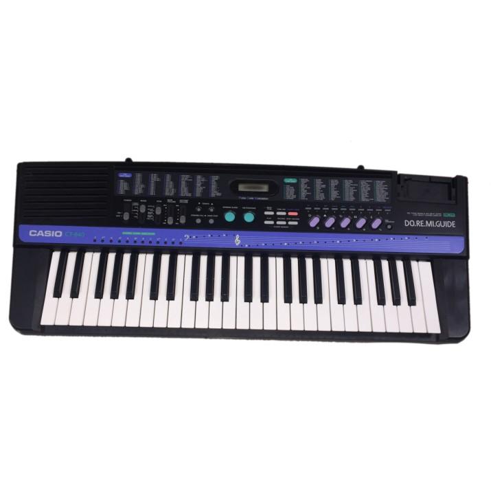 CASIO CT-840 49鍵 二手電子琴 有讀出Do Re Mi音階功能的電子琴 很適合兒童初學的好琴