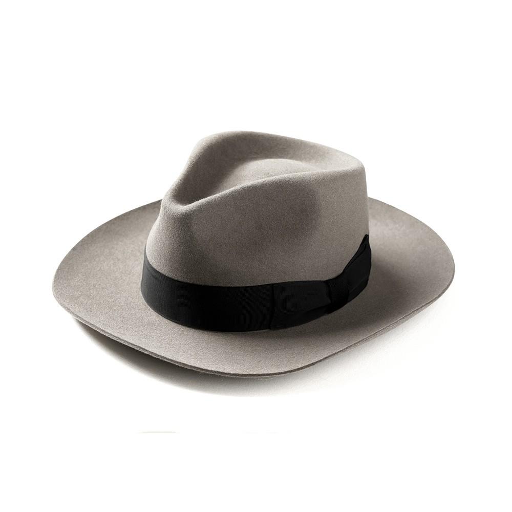 """Retrodandy - """" Fedora Hat """" - 灰色 Gray"""