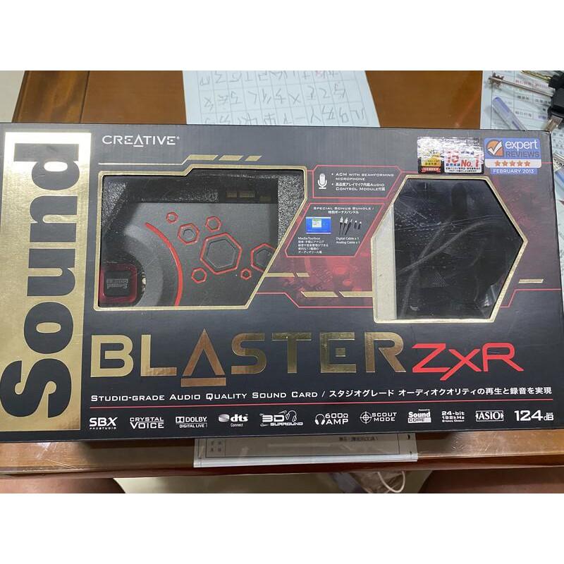 Creative創新未來 Sound Blaster ZxR