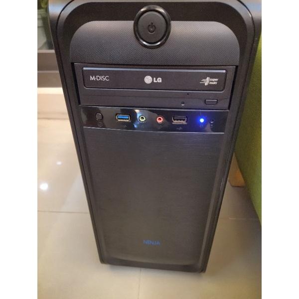 2手 聯強 技嘉套裝主機 AMD Fx-6300-+6核-3.5G/8G記憶/固態128G/獨顯2GB/WIN10