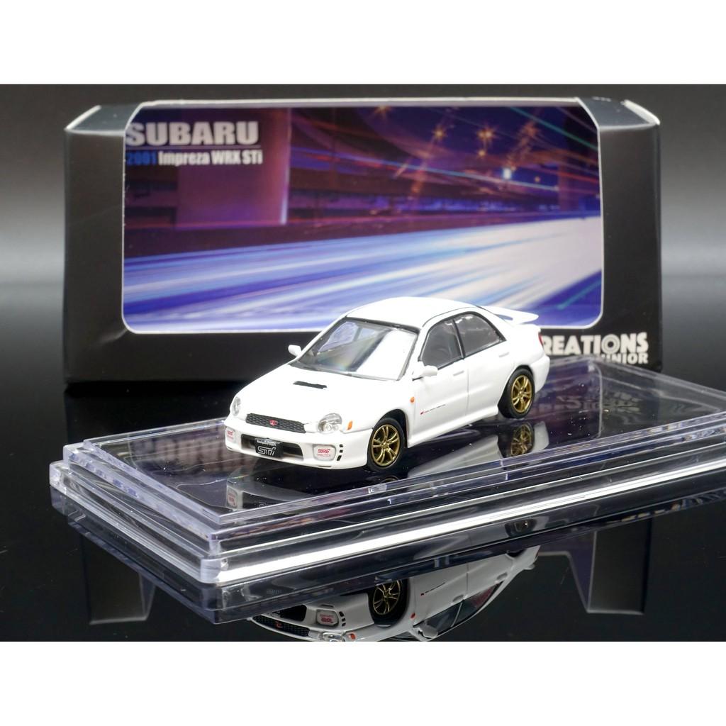 BM 1/64 Subaru 2001 Impreza WRX 圓燈 white MASH