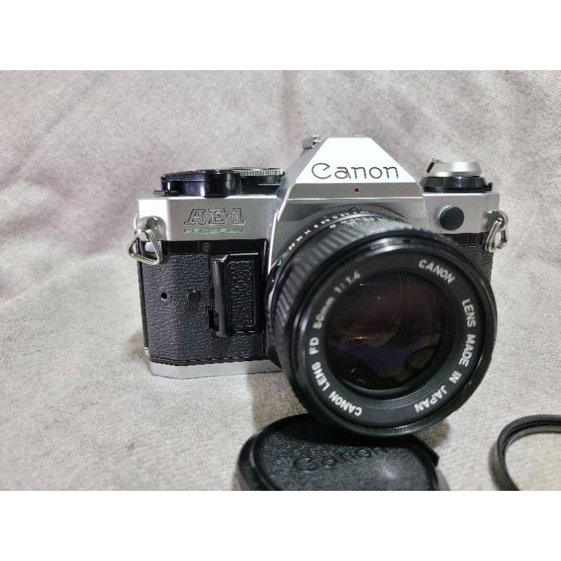 Canon經典銘機 AE-1Program+FD 50mm 1.4